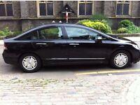 Honda Civic 1.3 IMA Hybrid ES Saloon 4dr, Full service history, Black, only £4,995 ono