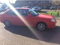 2002 Hyundai Accent 1.6cc 5 door mot until May drives like new no problems £200