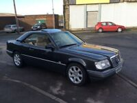 2door coupe last of the hand built Mercedes,FSH and in showroom condition