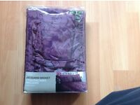 M&S purple King size duvet with 2 pillow cases NEW