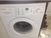 Washing machine Bosch 1200 spin 6kg, white, good condition £70