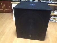 Brand new 300 watt behringer ultra bass amp plus bass speakers