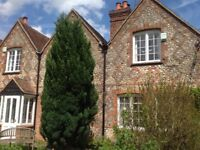 Two pretty brick and flint cottages in bucks. Grade two listed. Character features. Three beds each.