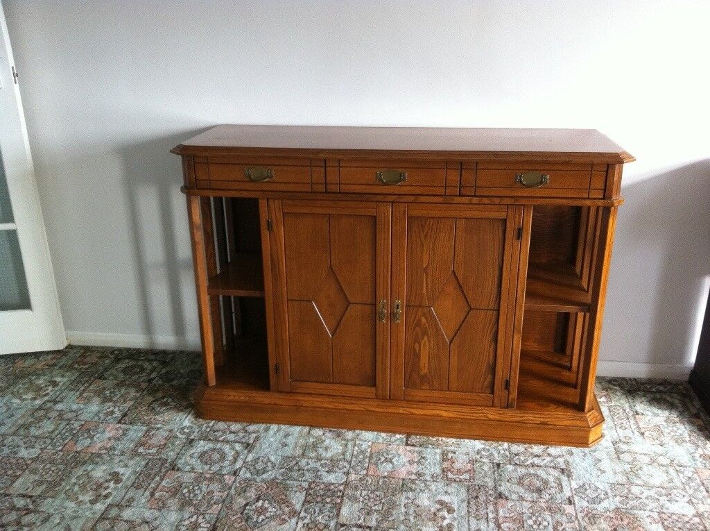Selva Italian Dining Table 6 Chairs Display Cabinet Sideboard