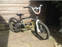 Barely used Halfords Hustle X-Rated BMX