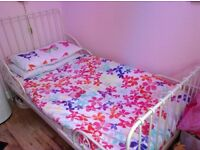 Beautiful girls bed