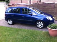 Vauxhall Zafira 57 reg good runner and very clean 7 seater mpv for sale or swap for Transit etc