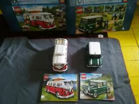 Lego camper and mini - 10220 - 10242