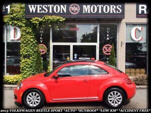 2013 Volkswagen Beetle Comfortline *AUTO *SUNROOF *LOW KM *ACCID