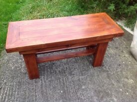 Coffee table small pine