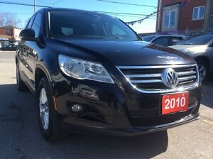 2010 Volkswagen Tiguan AWD 4 Cyl. Mint Condition w/Power Opts Mu