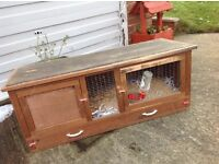 Hutch , for,rabbits , Guinea pigs , ferrets etc possible free delivery