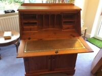 Ducal Victoria Pine Writing Bureau