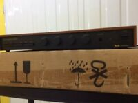 A&R A60 integrated amplifier.