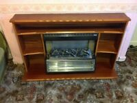 Electric Fire and Surround. £25