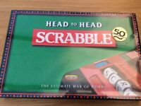 Scrabble Head to Head New And Sealed