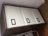3 drawer Triumph filing cabinet