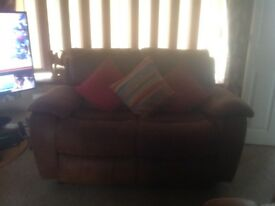 2 Seater Sofa manual recliner, good condition.