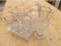 Assorted glassware (7 pieces)