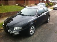 Alfa Romeo 147 JTDM 16V 2004. 6 Speed new clutch, new tyres. recent timing belt