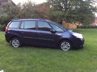 Citroen C4 Picasso (GRAND) VTR (58) Dark Blue 1.6HDI 7 Seater 1 Years MOT Great Condition throughout