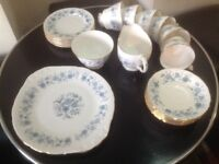 Colclough bone china tea-set. Lovely 6 piece.