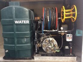 Professional power washer and drain cleaner