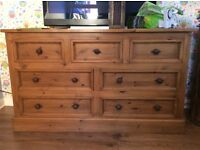 Handmade pine sideboard / dresser