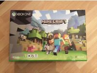 Xbox One S Console 500GB with Minecraft Download Bundle