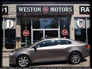 2010 Buick LaCrosse CXS*CHROME PKG*SUNROOF*LEATHER*BLUETOOTH*
