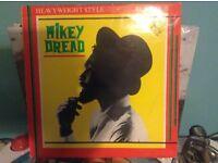 """REGGAE : MIKEY DREAD - HEAVYWEIGHT STYLE / RUB A DUB 10"""" VINYL"""