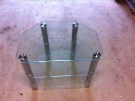 Glass / Chrome TV stand