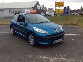 Peugeot 207 s, 2007, Full Year MOT Included, 1.4 Petrol