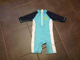 Childs swimsuit, UV protection, age 3-4 years