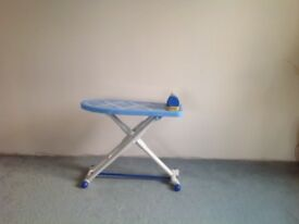 Kids iron (with sound) and ironing board set