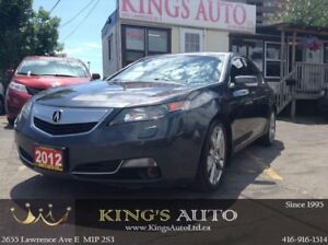 2012 Acura TL w/Elite Pkg SH-AWD-HEATED-COOLED LEATHER