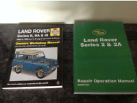 New Landrover Series 2 Owners Manuals