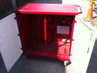 metal tool storage box