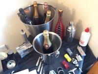 Champagne Buckets & Cocktail Accessories Kits