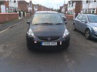 2006 Honda Jazz 1.2 S DSI 5dr hatchback petrol manual 1 owner black colour full history £1750