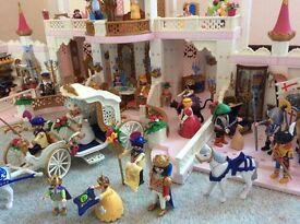 PLAYMOBIL Magic Castle Fairy Tale 4250, Wedding Carriage, +++MASSIVE bundle, Excellent Condition