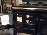 Rayburn oil cooker, 480K royal Blue ,excellent working order, heats radiators water and cooker
