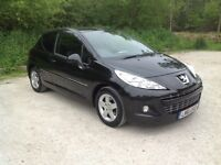 PEUGEOT 207 1.4 Sportium. Only 34,401 miles, 2011.