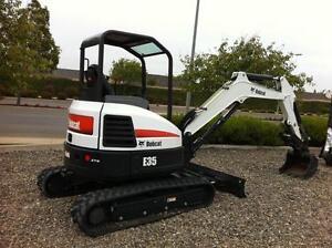 mini /micro excavator /Bobcat Hire Gold Coast Region Preview