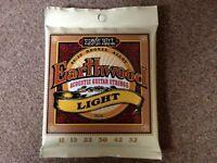 Ernie Ball Earthwood Light 80/20 Bronze Acoustic Set, .011 - .052 Strings