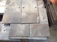 RECLAIMED WELSH ROOF SLATES 24x12 20x10 ALL OTHER SIZES AVAILABLE DELIVERY STILL POSSIBLE