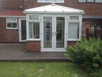 Conservatory 3900mm x 256mm including fan & blinds