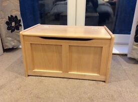 Great Little Trading Company wooden toy box perfect condition