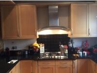 Kitchen Units, granite worktops and appliances for sale.