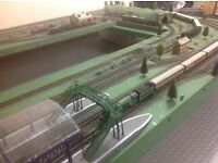 Hornby model railway layout